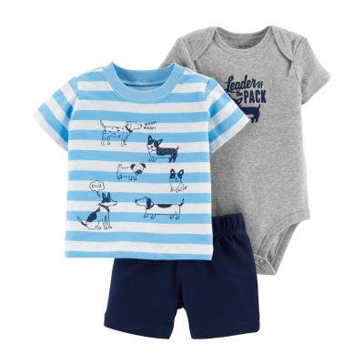 Carter's 3-Pc. Bodysuit Set - Baby Boys