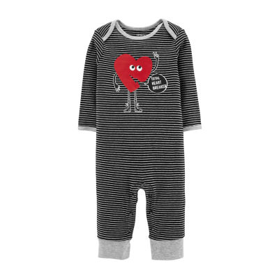 Carter's Valentine's Day Long Sleeve Jumpsuit - Baby
