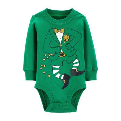 Carter's Carter'S Leprachaun Bodysuit - Unisex Baby Bodysuit - Baby Unisex