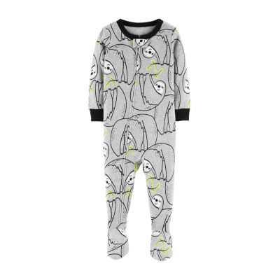 Carter's Long Sleeve One Piece Knit Pajama - Boys