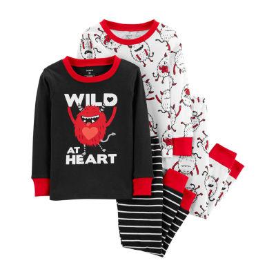 Carter's 4-pc. Pant Pajama Set Boys