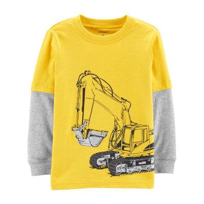 Carter's Construction Layered-Look T-Shirt - Baby Boys