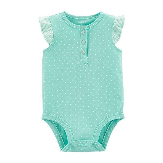 Carter's Slogan Bodysuit Bodysuit Girls-Baby