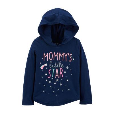 Carter's Little Star Pullover Hoodie - Baby Girl