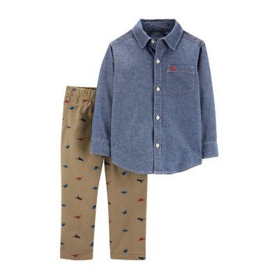 Carter's 2-pc. Pant Set Toddler Boys