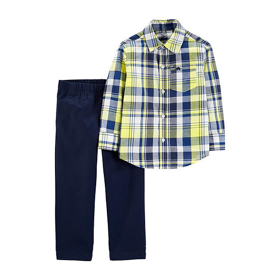Carter's 2-pc. Pant Set Toddler Boys