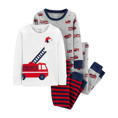 Carter's 4-Pc. Pajama Set - Toddler Boy