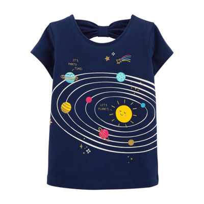Carter's Glitter Solar System T-Shirt - Toddler Girl