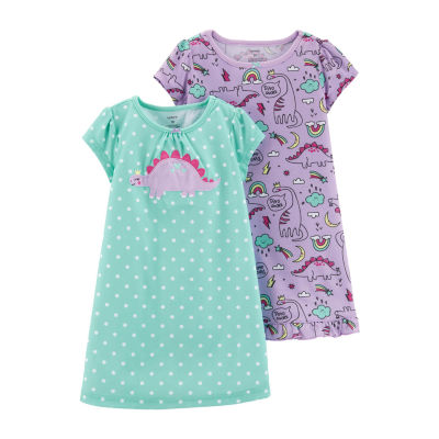 Carter's 2-Pk. Nightgown - Toddler Girl