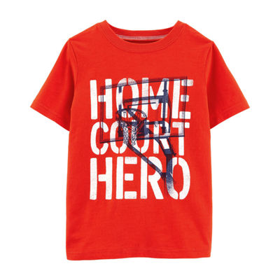 Carter's Boys Round Neck Short Sleeve Graphic T-Shirt Preschool / Big Kid