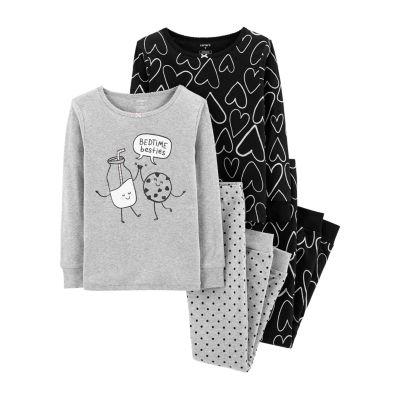Carter's Cotton Sleep Pajama 4-pc Set- Preschool Girl
