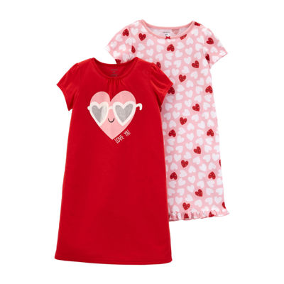 Carter's Girls Knit Nightgown Round Neck