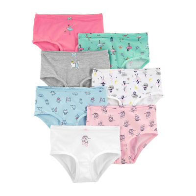 Carter's 3-Pk. Unicorn Underwear - Girl Bikini Briefs