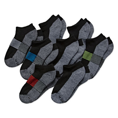 Hanes Ultimate 8 Pair No Show Socks - Boys