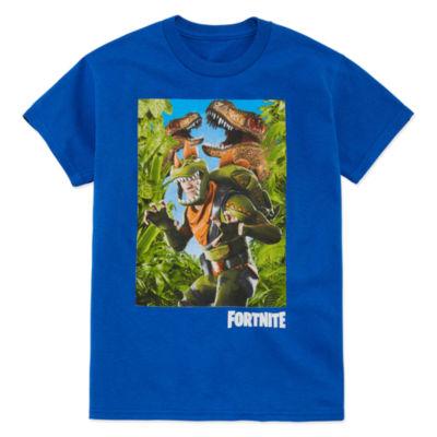 Fortnite Rex Graphic Tee- Boys