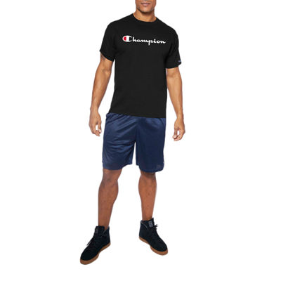 Champion Mens Crew Neck Short Sleeve T-Shirt-Big and Tall