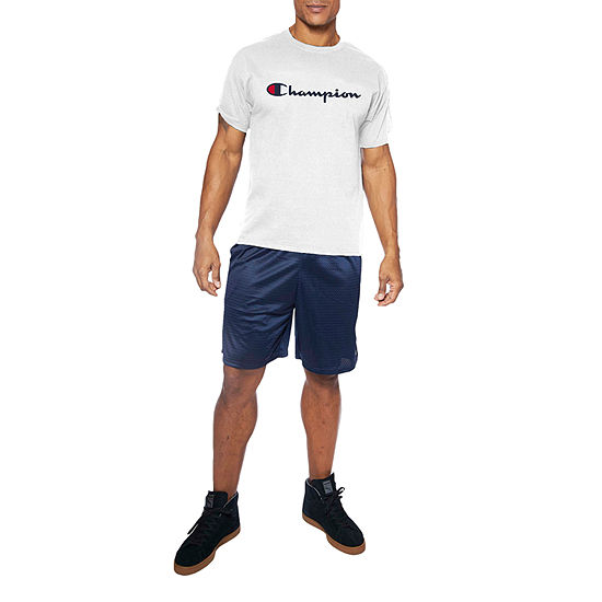 Champion-Big and Tall Mens Crew Neck Short Sleeve T-Shirt