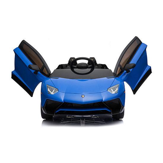 Mini Moto Lamborghini 12v Kids Battery Powered Ride On Car Remote Controlled 2 Seater (2.4ghz Rc)