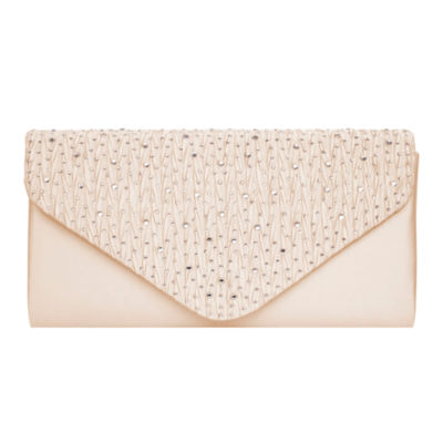 Vie And Rose Pleated Flap Clutch