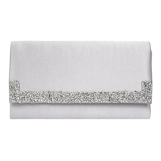 Vie And Rose Satin Clutch