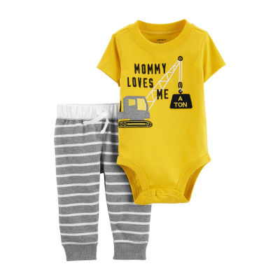 Carter's 2-Pc. Bodysuit And Pant Set - Baby Boys