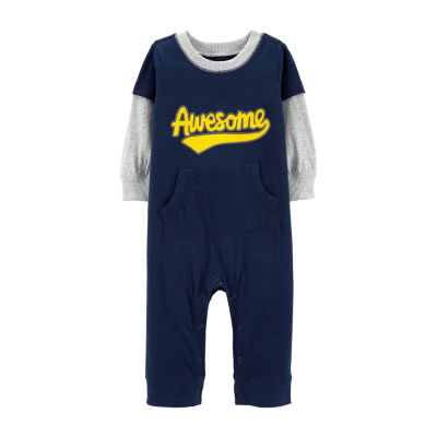 Carter's Layered Look Jumpsuit - Baby Boy