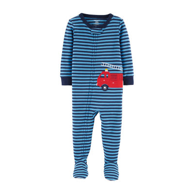 Carter's One Piece Firetruck Snug Fit Cotton Pajama - Baby Boy