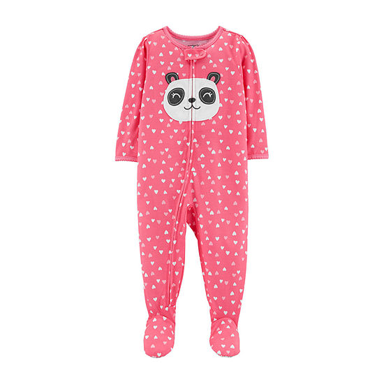 df1c3f82b Carter's One Piece Footed Pajama - Baby Girl - JCPenney