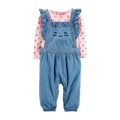 Carter's Chambray Overalls - Baby Girl