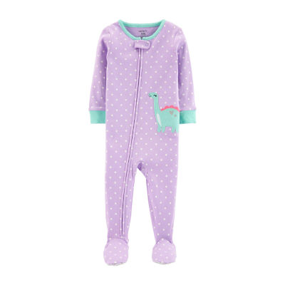 Carter's Footed Snug Fit Cotton Sleep - Baby GIrl