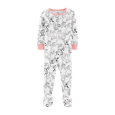 Carter's One Piece Footed Snug Fit Cotton Pajama - Baby Girl