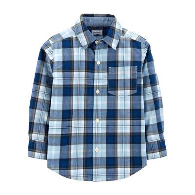 Carter's Plaid Poplin Button-Front Shirt - Baby Boy
