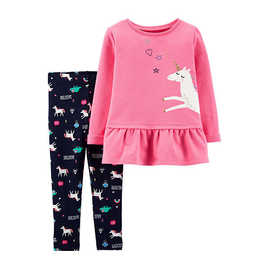 44d5092c1 Carter s 2-pc. Legging Set-Toddler Girls - JCPenney
