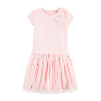 Carter's Short Sleeve Tutu Dress - Preschool Girl