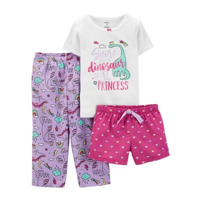Carter's 3-Pc. Sleep Pajama Set - Toddler Girls