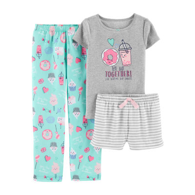 Carter's 3-pc. Pajama Set - Preschool Girls