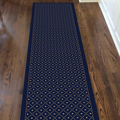 Como Contemporary Geometric Trellis Area Rug
