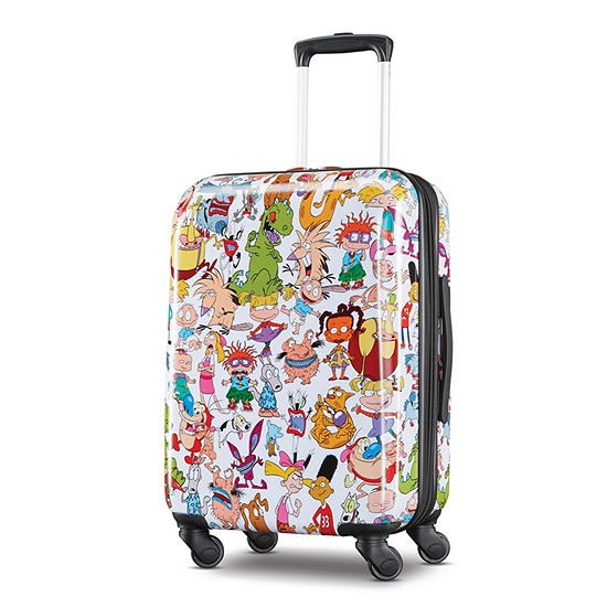 American Tourister Nickelodeon 90s 21 Inch Hardside Lightweight Luggage