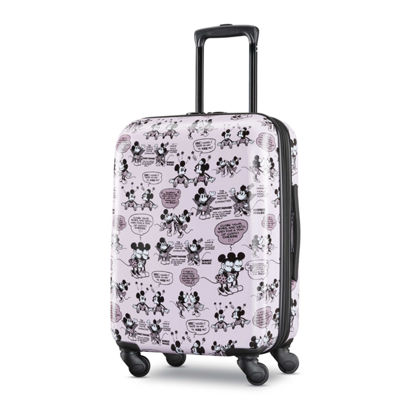 American Tourister Minne Mouse 21 Inch Hardside Lightweight Luggage