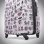 American Tourister Disney Minne Mouse Kiss 21 Inch Hardside Lightweight Luggage