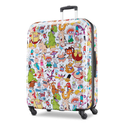 American Tourister Nickelodeon 90s 28 Inch Hardside Lightweight Luggage