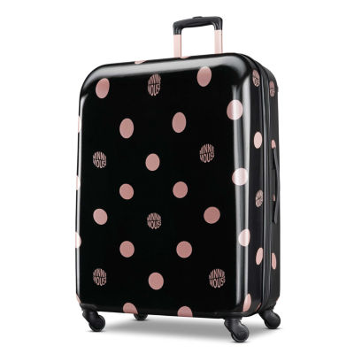 American Tourister Minnie Mouse Dots 28 Inch Hardside Lightweight Luggage