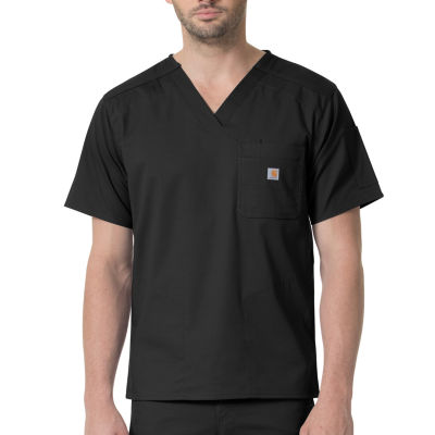 Carhartt C16418X Rugged Flex Men's V Neck Scrub Top-Big