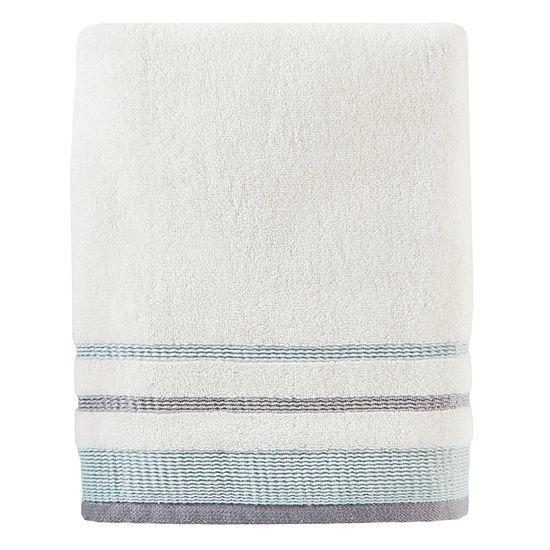 Saturday Knight Neutral Nuances Go Round Bath Towel
