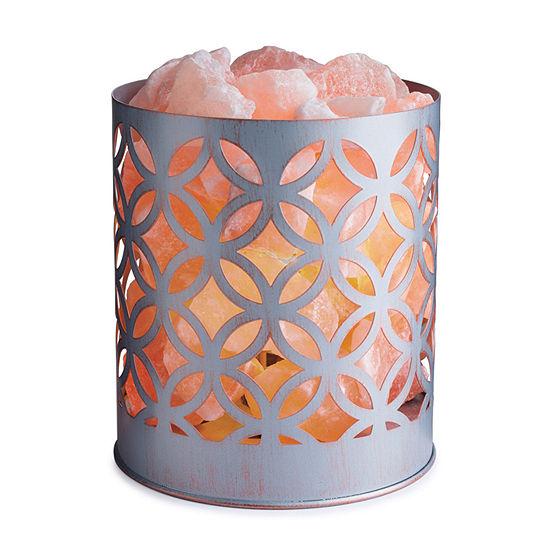 Airome Priya Basket Himalayan Salt Flameless Candle
