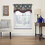 Waverly Clifton Hall Rod-Pocket Scalloped Valance