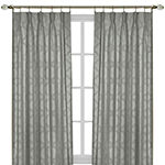 Windsor Blackout Pinch-Pleat Single Curtain Panel