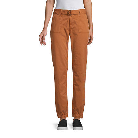 a.n.a Womens Mid Rise Jogger Pant, 2 , Brown