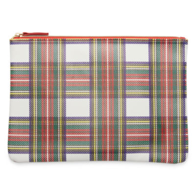 Mixit Adventure Plaid Tech Pouch