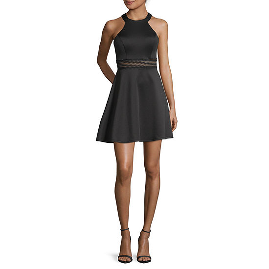 My Michelle-Juniors Sleeveless Dress Set